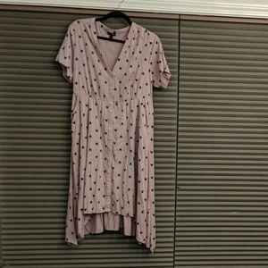 Torrid high low dress size 1